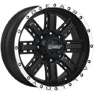 Gear Alloy Nitro 20x9 Black Wheel / Rim 8x6.5 with a 0mm Offset and a 130.20 Hub Bore. Partnumber 723MB 2098100 Automotive