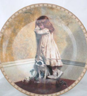 Royal Daulton Collector's Plate   In Disgrace by Charles Burton Barber   A Victorian Childhood Bradex Number 26 R62 36.1 1991