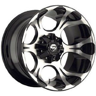 Fuel Dune 20x10 Machined Black Wheel / Rim 6x135 & 6x5.5 with a  24mm Offset and a 106.40 Hub Bore. Partnumber D52420009845 Automotive