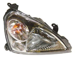 OE Replacement Suzuki Aerio Passenger Side Headlight Lens/Housing (Partslink Number SZ2519101) Automotive