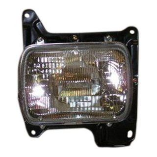OE Replacement Nissan Datsun Left Headlamp Assembly (Partslink Number NI2500103) Automotive