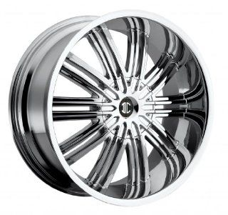 20 inch 20x8.5 2Crave No. 7 Chrome wheel rim; 5x150 bolt pattern with a +35 offset. Part Number N07 2085QQ35TC Automotive