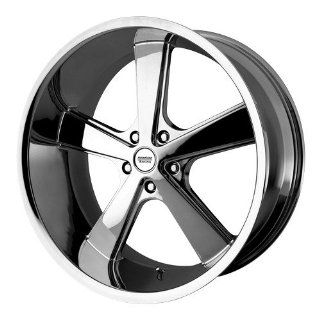 22x9 American Racing NOVA (Chrome) Wheels/Rims 5x115 (VN70122915215) Automotive