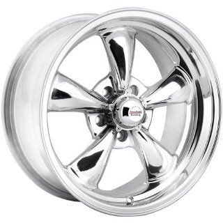 Rev Classic 100 18 Polished Wheel / Rim 5x4.75 with a 0mm Offset and a 72.7 Hub Bore. Partnumber 100P 8906100 Automotive