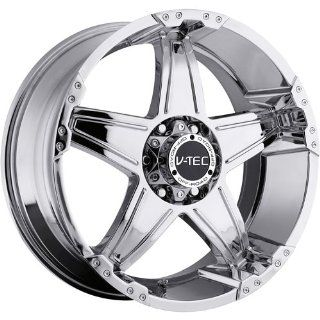 V Tec Wizard 17 Chrome Wheel / Rim 5x5.5 with a 25mm Offset and a 108 Hub Bore. Partnumber 395 7885PC25 Automotive