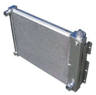 3 Row All Aluminum Replacement Radiator for the 1967 69 Chevy Camaro (SMALL BLOCK), 1967 69 Pontiac Firebird/Trans Am   Manufactured by Champion Cooling Systems, Part Number 337 Automotive