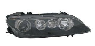OE Replacement Mazda Mazda6 Passenger Side Headlight Assembly Composite (Partslink Number MA2503135) Automotive