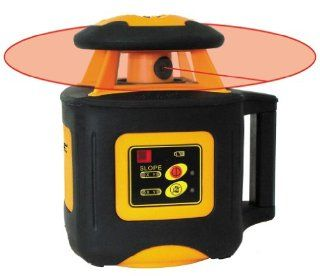 Johnson Level & Tool 40 6535 Electronic Self Leveling Horizontal Rotary Laser Level with Dual Slope Feature