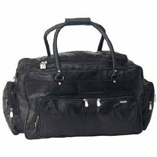 "USA Wholesaler  5339857 Italian 23"" Lambskin Leather Travel Bag  General Sporting Equipment  Sports & Outdoors"