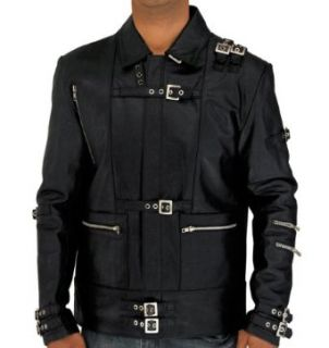 Michael Jackson BAD Leather Jacket Clothing
