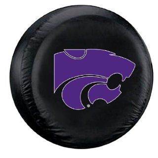 Kansas State Wildcats KSU NCAA Black Spare Tire Cover Sports & Outdoors