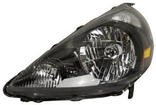 OE Replacement Honda Fit Driver Side Headlight Assembly Composite (Partslink Number HO2502131) Automotive