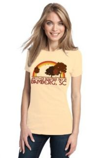 ANOTHER BEAUTIFUL DAY IN BAMBERG, SC Retro Ladies' T shirt / South Carolina City Pride Tee Clothing