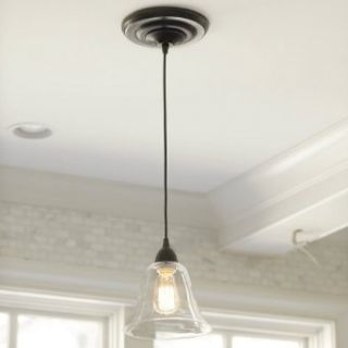Glass Pendant Shade Adapter for Recessed Can Lights   Silver   Ballard Designs   Ceiling Pendant Fixtures