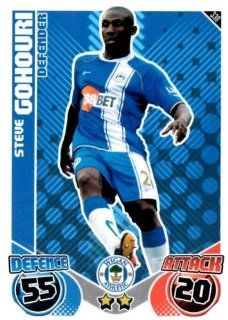 Steve GOHOURI Wigan Individual Match Attax 2010/11 Trading Card Toys & Games