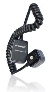 Polaroid 3' TTL Off Camera Remote Flash Shoe Cord For The Canon Digital EOS Rebel T3 (1100D), T3i (600D), T1i (500D), T2i (550D), XSI (450D), XS (1000D), XTI (400D), XT (350D), 60D, 50D, 40D, 30D, 20D, 10D, 5D, 1D X, 1D, 5D Mark 2, 5D Mark 3, 7D Digita