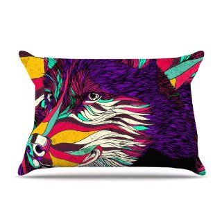 "Kess InHouse Danny Ivan ""Color Husky"" 30 by 20 Inch Pillow Case, Standard   Pillowcases"