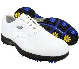 New Mens Etonic Sof Tech Dress Golf Shoes White Size 9 M   Retail $119.99 Sports & Outdoors