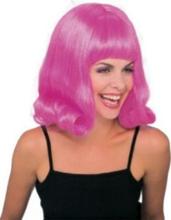 Rubie's Costume 60's Revolution Flip Wig, Pink, One Size Clothing