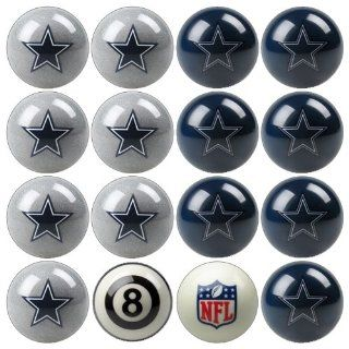 IFS   Dallas Cowboys NFL 8 Ball Billiard Set   Billiard Ball Racks