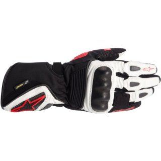 Alpinestars GT S X Trafit Gloves , Gender Mens/Unisex, Primary Color Black, Distinct Name Black/White/Red, Size Md, Apparel Material Textile 3525214 123 M Automotive