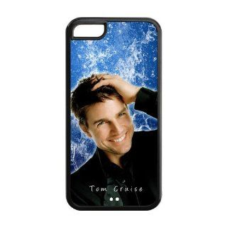 DIY Super Film Star Tom Cruise plastic hard case skin cover for iPhone 5C 0735 01 Cell Phones & Accessories