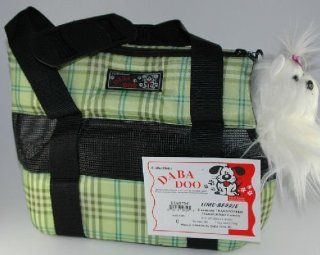 Daba Doo Pet Dog Cat Carrier Seasons Lime Berrie Size 0