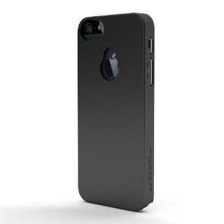 Maxboost iPhone 5S Case / iPhone 5 Case [Fusion Snap On Case Series   SF Matte Black] Premium Coated Protective Hard Case for iPhone 5S / iPhone 5 (Fits All Versions of iPhone 5S & iPhone 5, AT&T, Verizon, Sprint) Cell Phones & Accessories