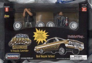 Homie Hoppers * Aztec Gold * 61 Impala Lowrider * Build N Play 1/25 Scale Model Toys & Games