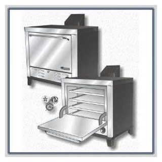 Peerless CE 131 Electric Countertop Pizza Oven  Peerless CE 231 220V/1Ph SS Front, Top & Sides  (CE 131 Dbl)