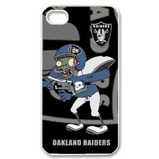 Custom Case nfl Oakland Raiders for Iphone 4/4s Case Cover New Design,top Iphone 4/4s Case Show 1l138 Cell Phones & Accessories