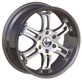 "Voxx OR 9 91 Satin Black Wheel with Machined Face (18x8.5""/6x139.7mm) Automotive"