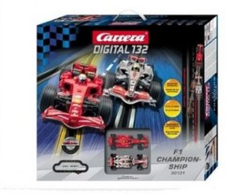Carrera USA Digital 132, F1 Championship Race Car Set Toys & Games