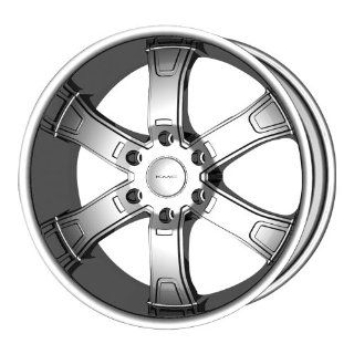 "KMC Wheels Brodie KM6712 Chrome Finish Wheel (26x10""/6x139.7mm) Automotive"