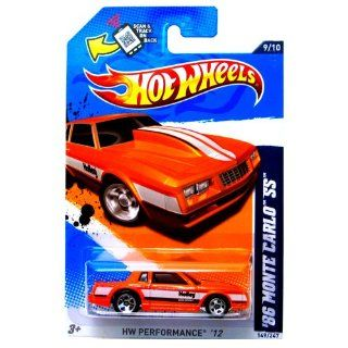 2012 Hot Wheels HW Performance '86 Monte Carlo SS Orange #149/247 Toys & Games