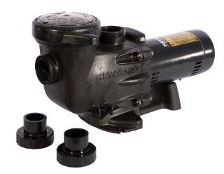Hayward SP2710X152 Max Flo II 1 1/2 HP Standard Efficient Dual Speed Pump  Swimming Pool Water Pumps  Patio, Lawn & Garden