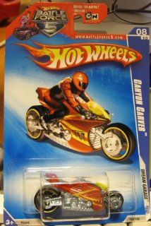 Hot Wheels 2009 154 Dream Garage Canyon Carver 8/10 RED Motorcycle Toys & Games