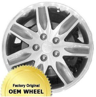 MITSUBISHI ENDEAVOR 17X7 7 SPOKE Factory Oem Wheel Rim  MACHINED FACE GREY   Remanufactured Automotive