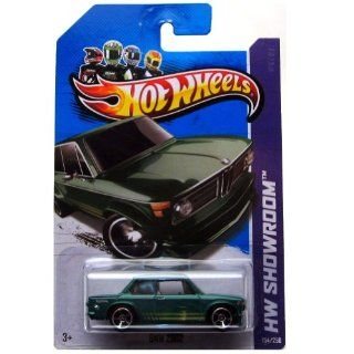 Hot Wheels 2013, BMW 2002 (GREEN), HW SHOWROOM, #154/250. 164 Scale. Toys & Games