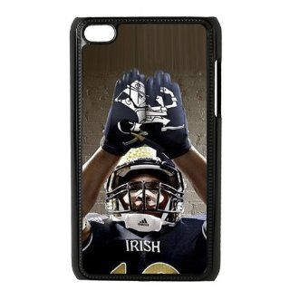 NCAA Notre Dame Fighting Irish Football Team Grading Irish Uniforms Logo Unique Durable Hard Plastic Case Cover for Apple iPod Touch 4 Custom Design UniqueDIY Cell Phones & Accessories
