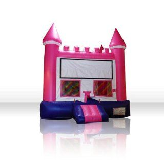 Inflatable Pink Castle Bounce House Toys & Games