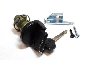 PT Auto Warehouse ILC 163L   Ignition Lock Cylinder with Keys Automotive