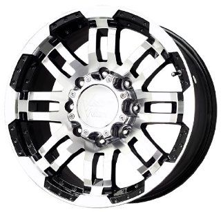 "Vision Warrior 375 Gloss Black Wheel with Machined Face (18x8""/8x165.1mm) Automotive"