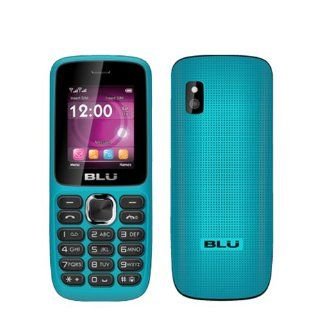 BLU Aria T174 Blue Unlocked GSM Dual SIM QuadBand Bar Cell Phone Cell Phones & Accessories