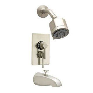 "Jaclo 6532 168 05 Polished Copper Bathroom Faucets Cylindrico 5 1/2"" Thermostatic Tub & Shower Sets"