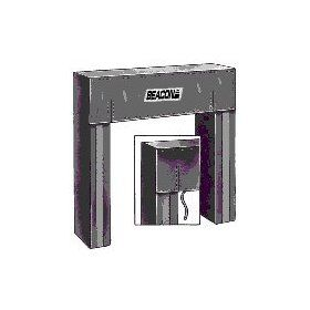 "Beacon B101 Door Seal with Auto Adjustable head curtain.; Door Opening (Wide x High) Size 10'x10'; Door Seal Projection 20""; Material Type Neoprene coated; Material Thickness 16oz; Model# B101 171 10x10 20 16 Industrial Products Industri"