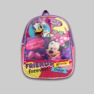 "Disney Minnie Mouse & Daisy Duck Toddler Girl's 10"" Backpack Toys & Games"