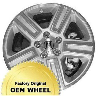 HONDA RIDGELINE 18x7.5 Factory Oem Wheel Rim  MACHINED FACE SILVER   Remanufactured Automotive