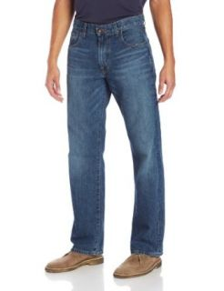 Lucky Brand Men's 181 Relaxed Straight Leg Jean in Dellwood Clothing