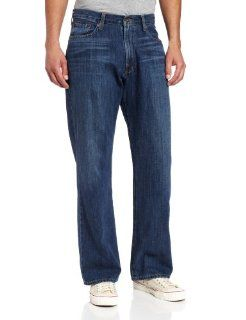Lucky Brand Men's 181 Relaxed Straight Leg Jean in Ol Downtown Hipster, Ol Downtown Hipster, 31x30 at  Men's Clothing store